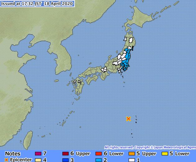 earthquaqe japan