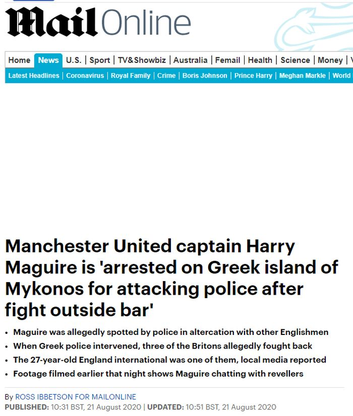 manchester Harry Maguire