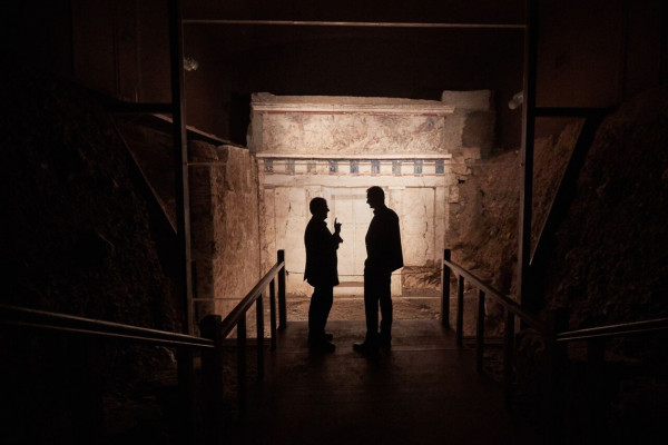 New excavations at King's grave of Vergina – Researcher's
